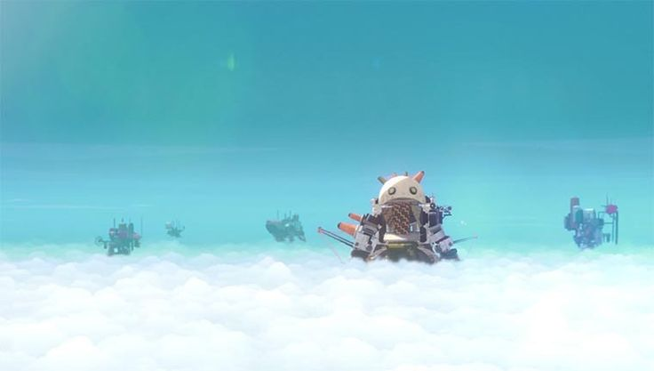 "Wolkenhohe Roboter-Giganten - Animated short: ""The Unlikely Hero"" https://www.langweiledich.net/wolkenhohe-roboter-giganten/"