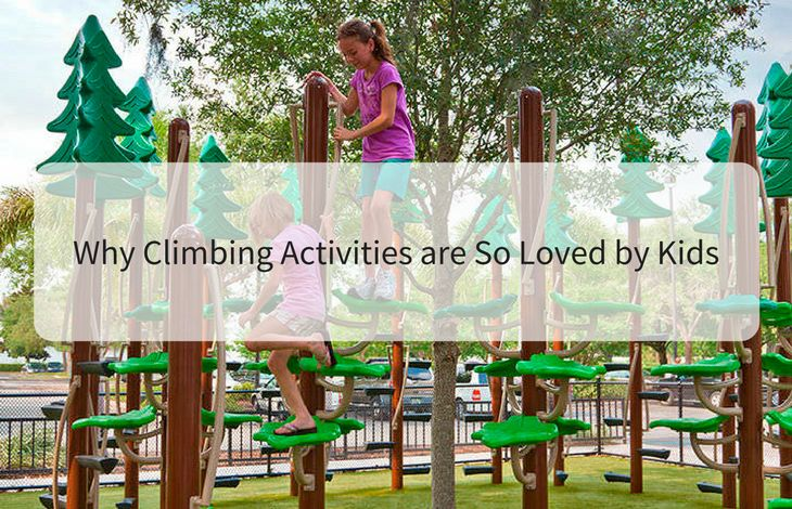 You must have seen children always tries to clamber over unstructured pieces. They are more attracted towards climbing activities and like to spend most their energy in climbing ropes and walls. Visit here to get more information and read about why children love climbing activities. #outdoorplayspace #children #climbing #rope