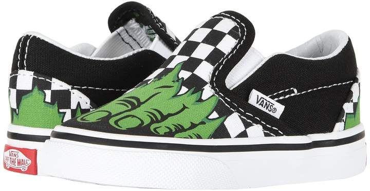 Vans Kids Vans X Marvel(r) Classic Slip On (InfantToddler