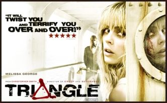 Triangle (2009) full movie with English subtitles. IMDb: 6.9 The story revolves around the passengers of a yachting trip in the Atlantic Ocean who, when struck by mysterious weather conditions, jump to another ship only to experience greater havoc on the open seas.