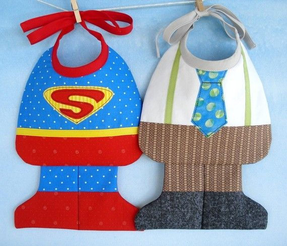 El babero de superman