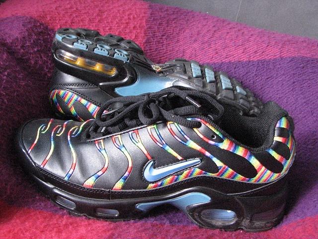 Nike Air Max TN Black Rainbow shoes shoes shoes shoes