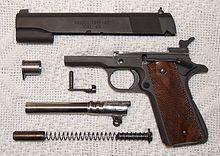 M1911 pistol - Wikipedia, the free encyclopedia