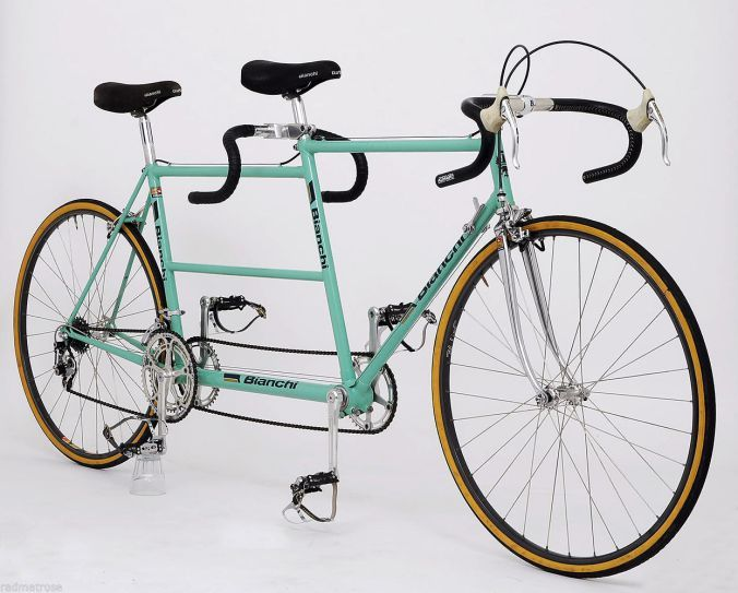 Just say NO! | 1981  Bianchi Tandem Race Bike