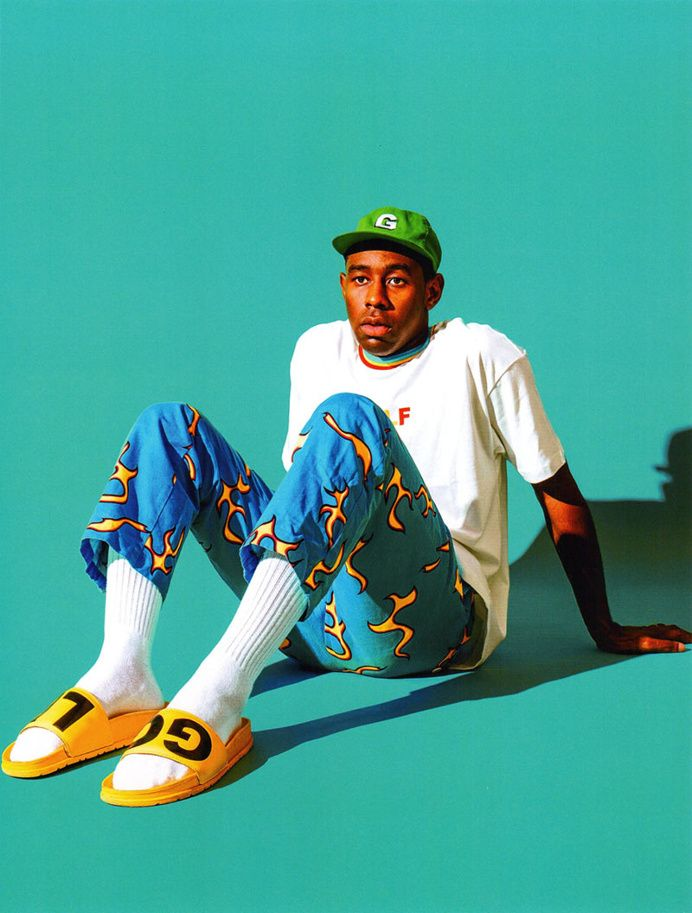 Golf Wang Releases a Highly Saturated 2016 Fall/Winter Collection Tyler the Creator in Fresh