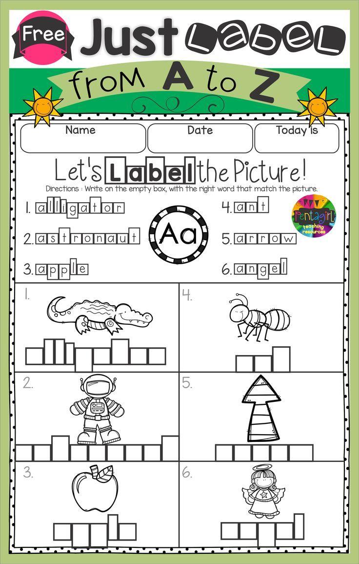Kindergarten Freebie