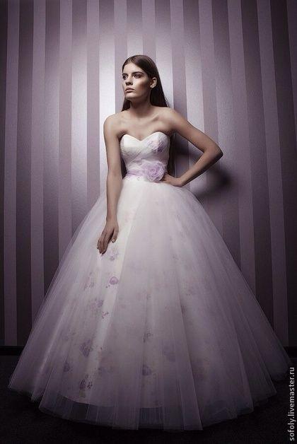 """Свадебное платье """"Портофино"""". Handmade."""