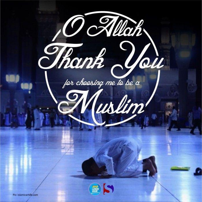 O Allah Thank You...