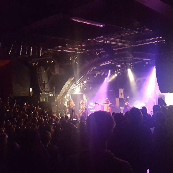Twilight Force ⚫ Photo by Chris Kessel ⚫ Hamburg 2016 ⚫ #TwilightForce #music #metal #concert #gig #musician #Chrileon #Lynd #DeAzsh #Born #Blackwald #Aerendir #singer #vocalist #frontman #guitarist #guitar #microphone #ninja #mask #armour #armor #microphone #bracers #tattoo #beard #hood #hymn #elf #tabard #playing #coat #earrings #leather #blond #longhair #show #photo #fantasy #magic #cosplay #larp #man #onstage #live #celebrity #band #artist #performing
