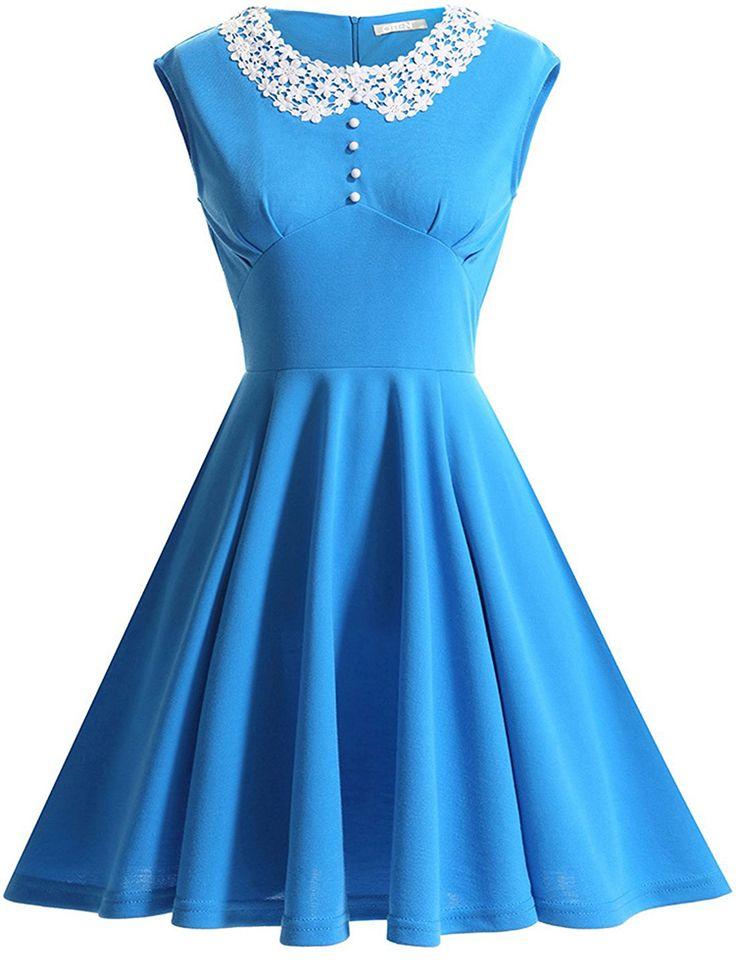 Evening Prom Vintage Audrey Hepburn Style Dress