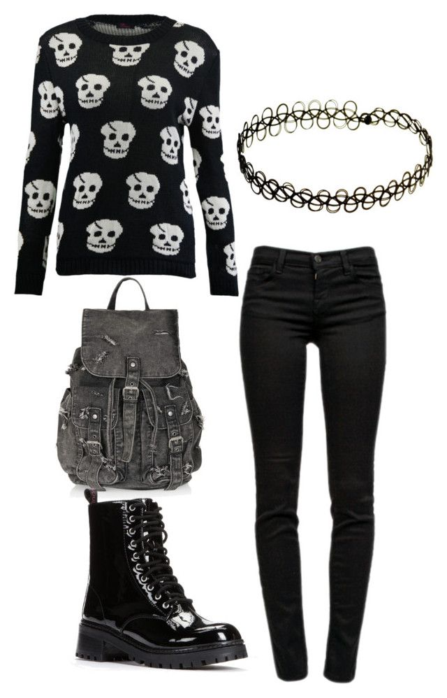 """""""Untitled #41"""" by emo-scene01 on Polyvore featuring J Brand, Topshop, HeartSOUL, INDIE HAIR, women's clothing, women's fashion, women, female, woman and misses"""