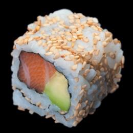 California Rolls Saumon avocat et graines de sésame http://www.sushishop.fr/livraison/california-rolls/california-saumon-avocat-92.html