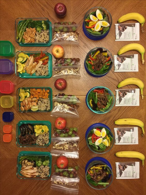 5 Day Meal Plan, 21 Day Fix