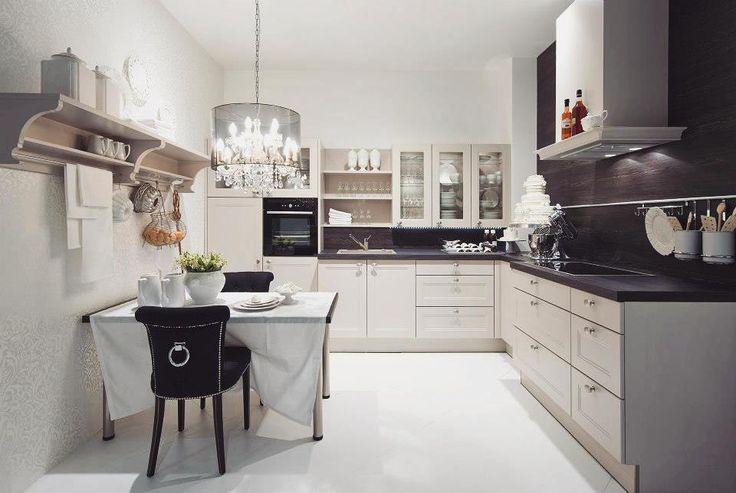 Uwielbiamy gustowne połączenia nowoczesności z klasyką Podoba Wam się?   #bogaccypl #kuchnia #kuchnie #inspiracje #inspiracja #wnętrza #mojemieszkanie #mojdom #aranżacjawnętrz #meblekuchenne #mojakuchnia #meble #pomysł #pieknakuchnia #kitchen #kitcheninspo #interiordesign #decor #meblenawymiar #nowakuchnia #remont #beautiful #vsco #vscocam