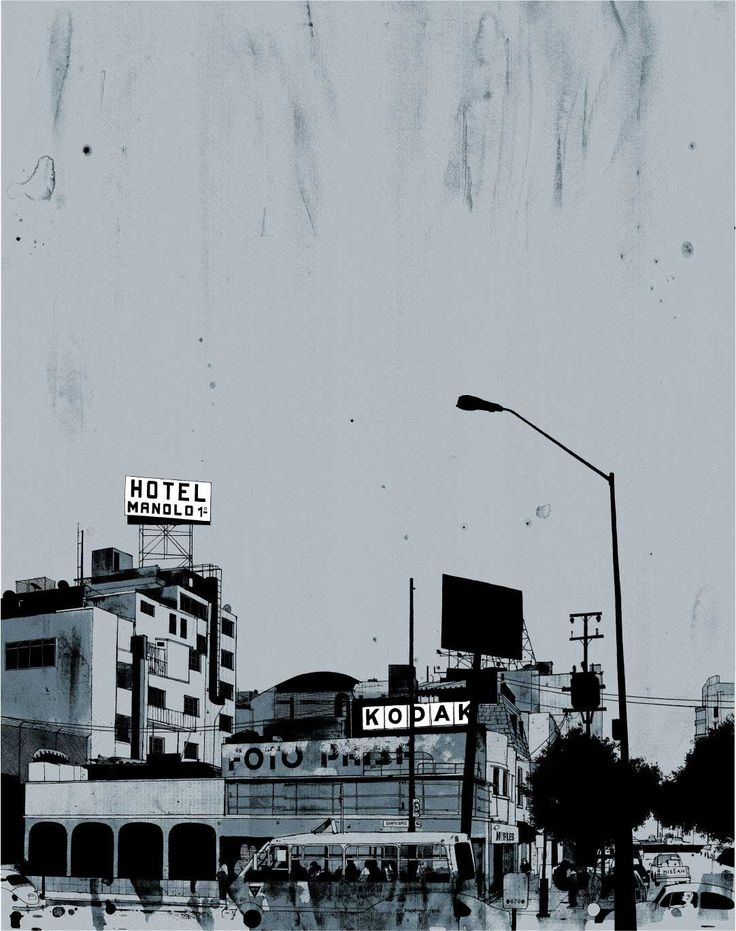 Evan Hecox retrata la Ciudad de México