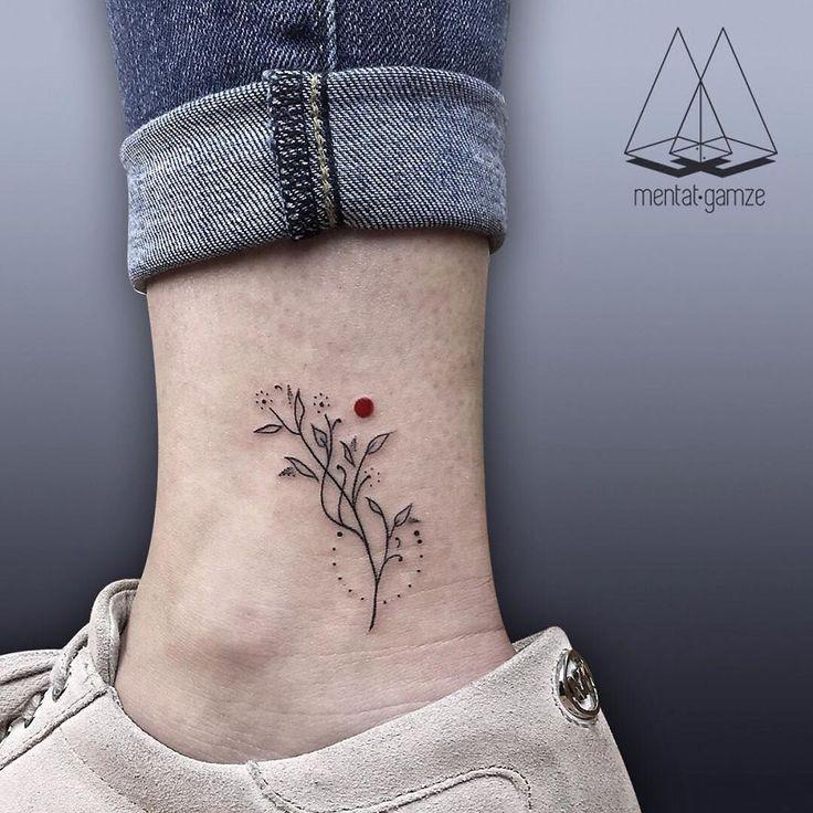 Les tatouages au point rouge de Mentat Gamze