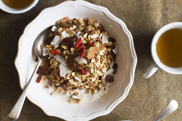 Geoff Scott's low fat healthy muesli