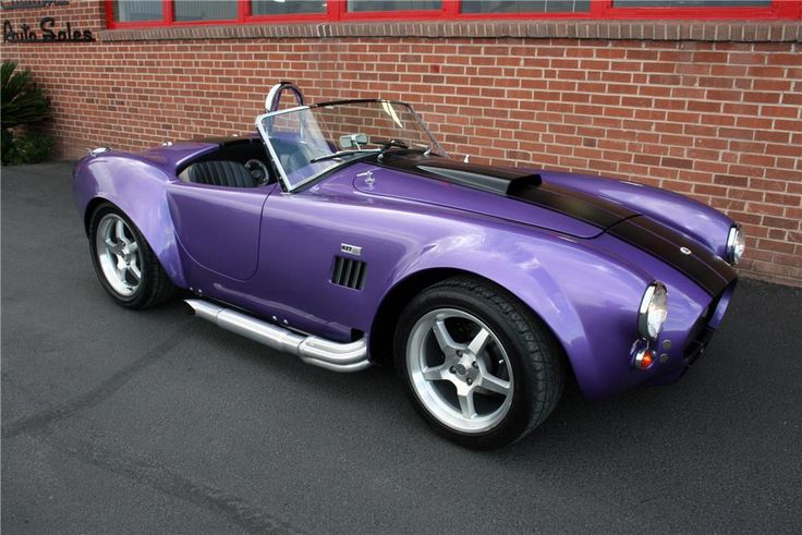 1965 SHELBY COBRA RE-CREATION ROADSTER - Barrett-Jackson Auction Company - World's Greatest Collector Car Auctions