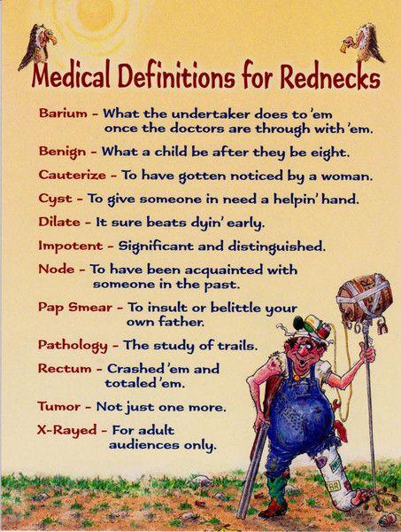 Leanin Tree Redneck Medicine Get Well Greeting Card GWG44653