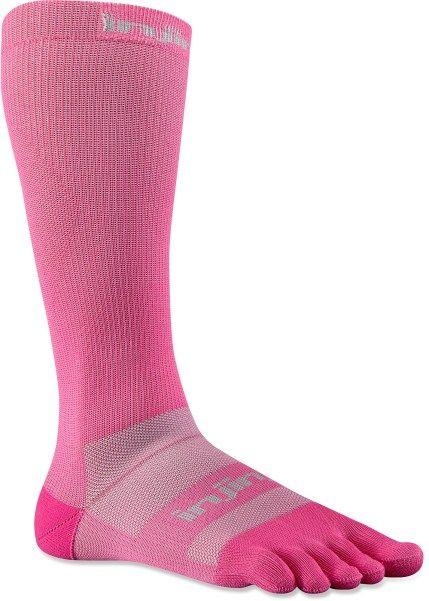PINK Injinji compression socks