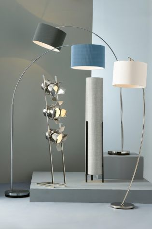 Buy Large Curve Arm Floor Lamp from the Next UK online shop