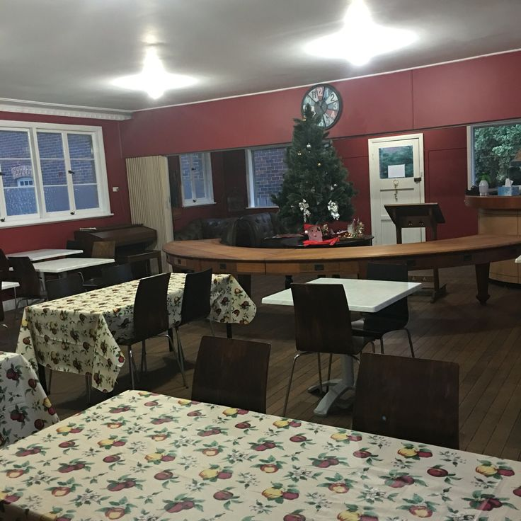 The dining room at The Convent Glen Innes