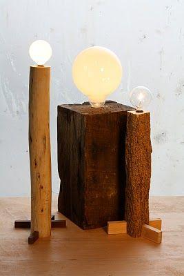 cdc lamparas de madera reciclada o no