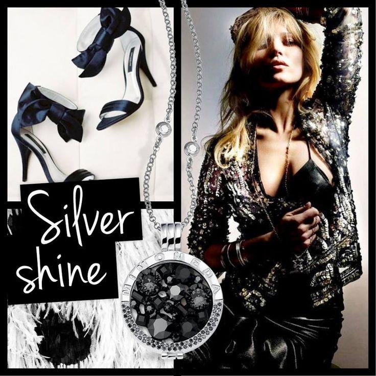 Mi Moneda - Black, Silver & shiny