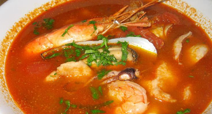 Parihuela - Peruvian Seafood Soup - Spicy, fragrant and loaded with seafood, Parihuela is Peru's version of bouillabaisse. Don't be tempted to omit the Peruvian chillies and paste from the recipe as they lend unique and extremely fruity flavours to the base of the soup.  - http://aussietaste.recipes/seafood/mussels/parihuela-peruvian-seafood-soup/  -   #recipe