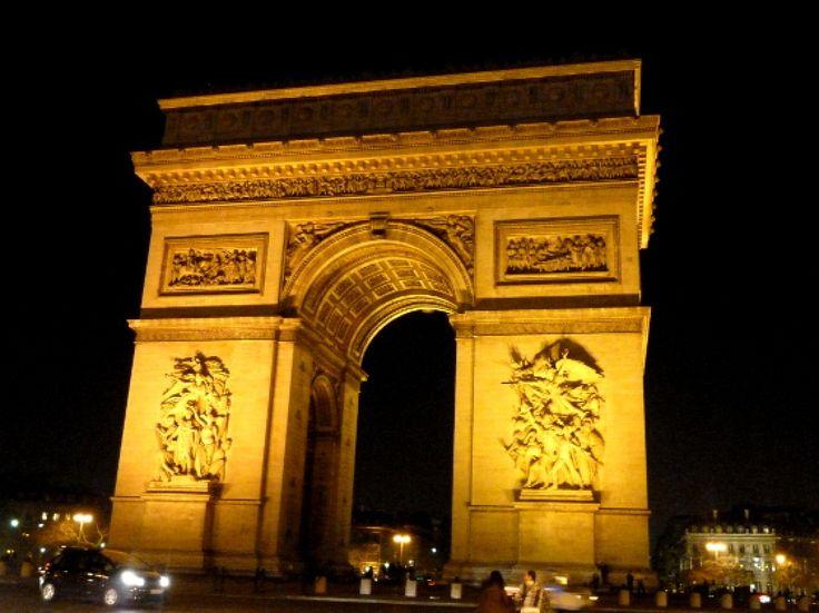 Breathtaking Arc De Triomphe At Night Paris France With Arc De Triomphe In France