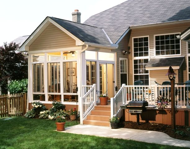 Deck Enclosure | Home improvement products, trends, news and information from Northeast Ohio's Only Sunroom & Window Manufacturer specializing in Windows, Sunrooms, Patios, Decks, Gutters, Siding, Kitchens and more.