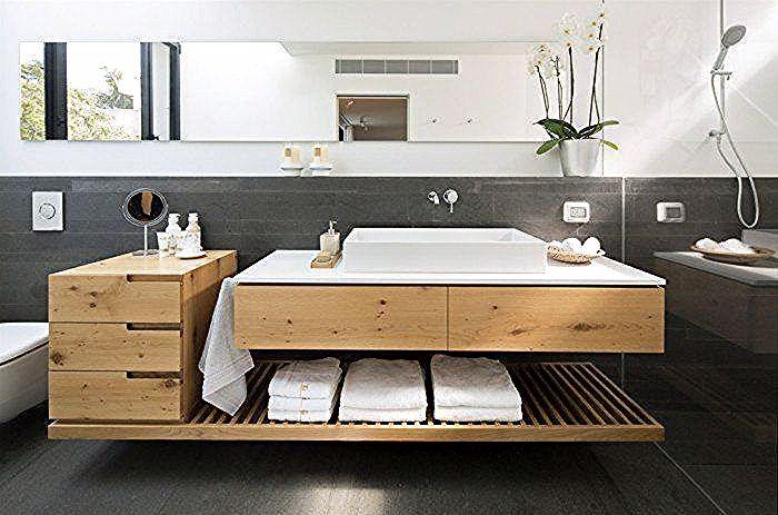 Badezimmer Mit Holz Was Muss Beachtet Werden Vanity Shelves Small Vanity