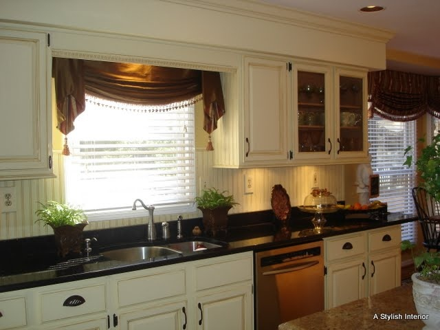 1000 ideas about country window treatments on pinterest rustic window treatments window - Country kitchen valances for windows ...