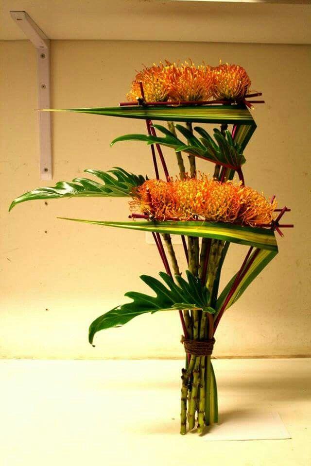 1754 best images about floral arrangements on pinterest for Bouquet exotique