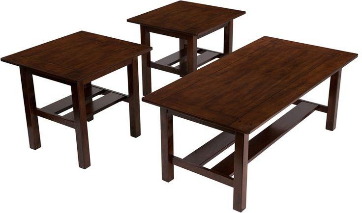 Signature Design by Ashley Lewis 3 Piece Occasional Table Set -Signature Design…
