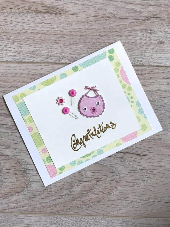 New Baby Card // Handmade Card //