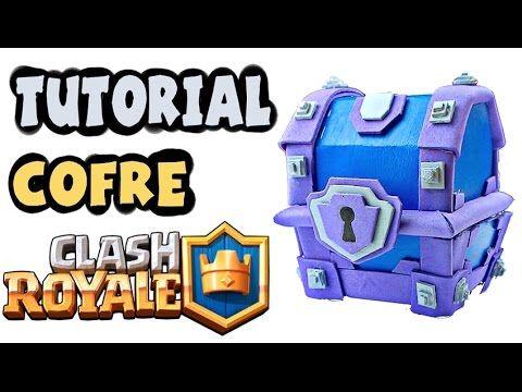 COFRE SUPERMÁGICO CLASH ROYALE  de CARTÓN!! - Dcrafting - YouTube