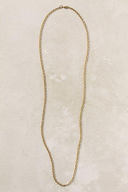 Skinny Gold Necklace