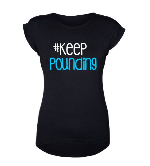 Keep Pounding Tee // Carolina Panthers // Panther Nation // Carolina Football // Panther Football Fan by CarolinaMomDesigns on Etsy