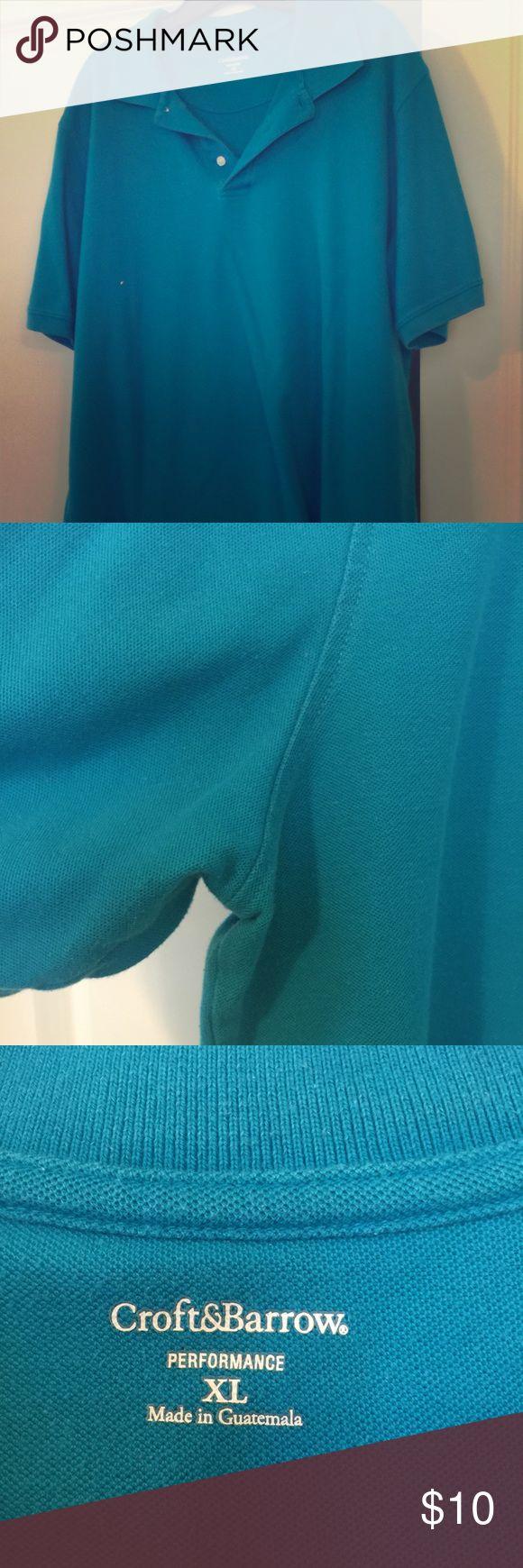 Men's | Teal Cotton Polo All Men's Polo Shirts - 2 for $15! 100% cotton polo shirt. No holes or stains. Shirts Polos