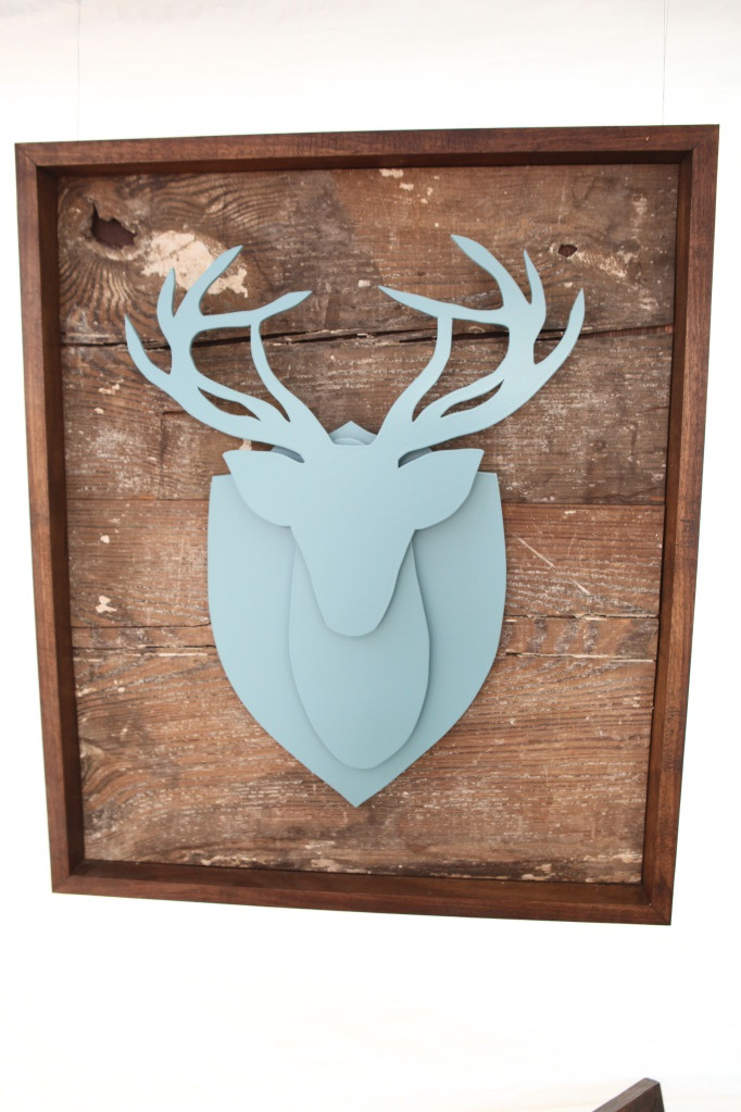§ Modern deer head DIY