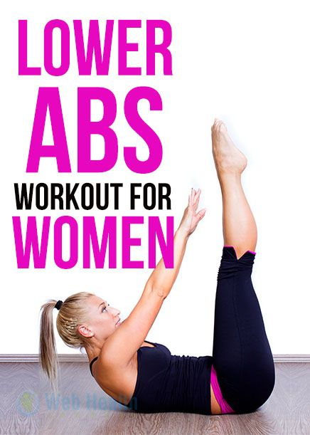 Lower Ab Workouts for Women : #ab_workouts