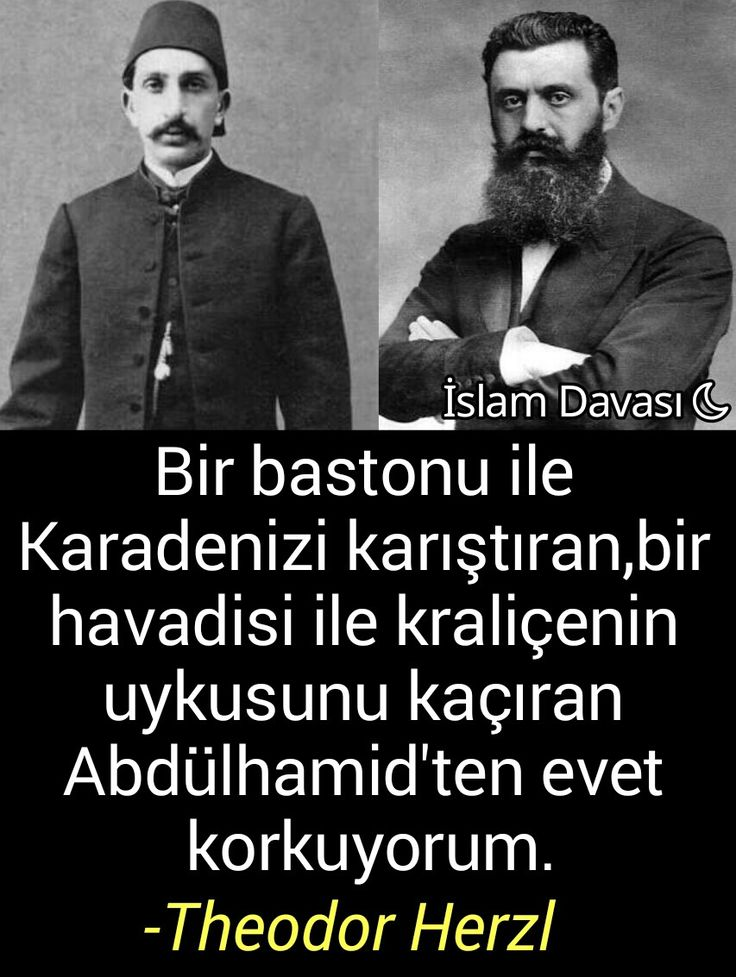 Theodor Herzl, Abdülhamid Han..