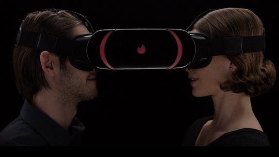 """Tinder trolls CES by pitching a regular reality headset Read more Technology News Here --> http://digitaltechnologynews.com  Tinder would perhaps have a difficult time getting in on the VR craze. So it didn't. Instead it pranked CES.  In the thick of the Consumer Entertainment Show on Thursday the dating app """"launched"""" Tinder VR a """"multiuser VR"""" experience that is actually just two people wearing a big headset and having a face-to-face conversation.   SEE ALSO: Why are these Tinder's most…"""