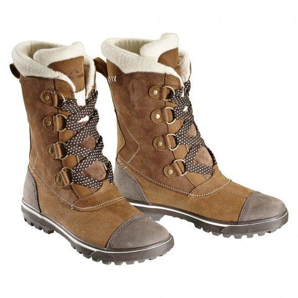Calgary Women's Boots - Brown