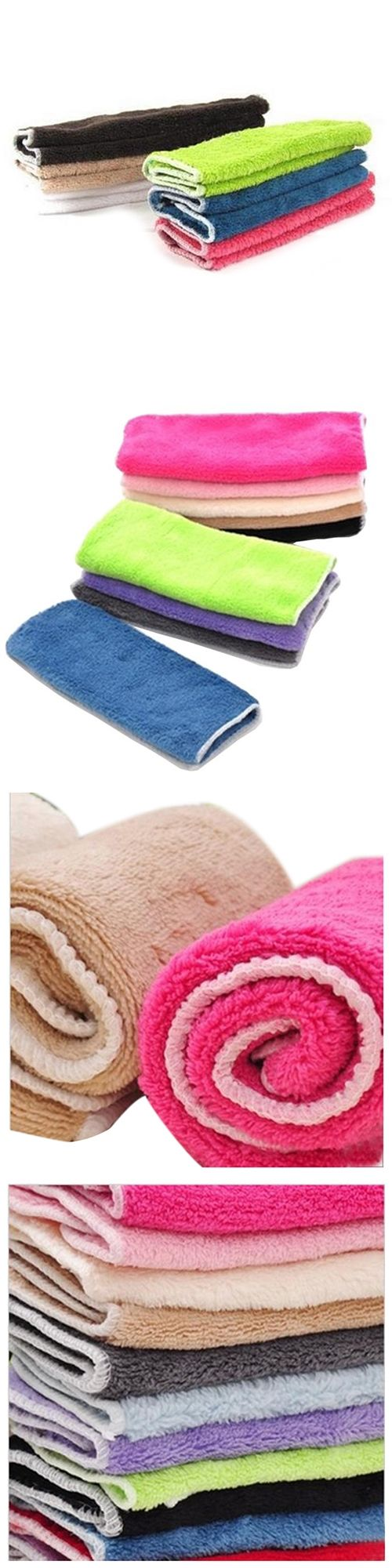 Anti-grease Cloth Bamboo Fiber Washing Towel Magic Kitchen Cleaning Wiping Rags