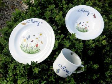 22 best taufgeschenke kindersets aus porzellan mit namen images on pinterest porcelain funny. Black Bedroom Furniture Sets. Home Design Ideas