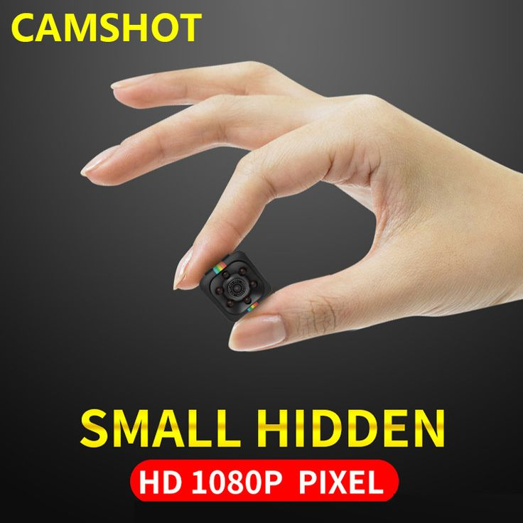 Camshot Nový štýl 1080P Malá mini kamera 12 MP infračervené nočné videnie HD športové digitálne mikro endoskopy