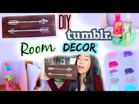 DIY: Tumblr Room Decor & Organization for Cheap   Collab with Gabsi Salant - YouTube