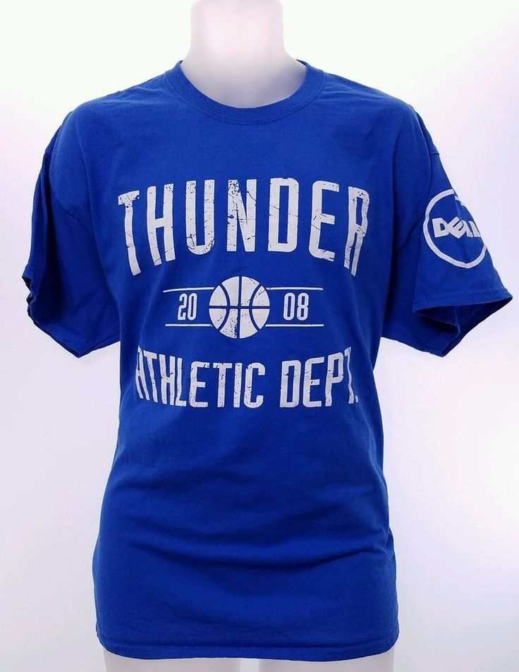 NBA OKC THUNDER XL Shirt 2016 Playoff VS SPURS Game 6 Westbrook Adult Rumble #Gildan #OklahomaCityThunder